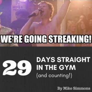 Going Streaking Gym Health