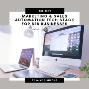 Marketing Sales Automation Tech Stack CRM